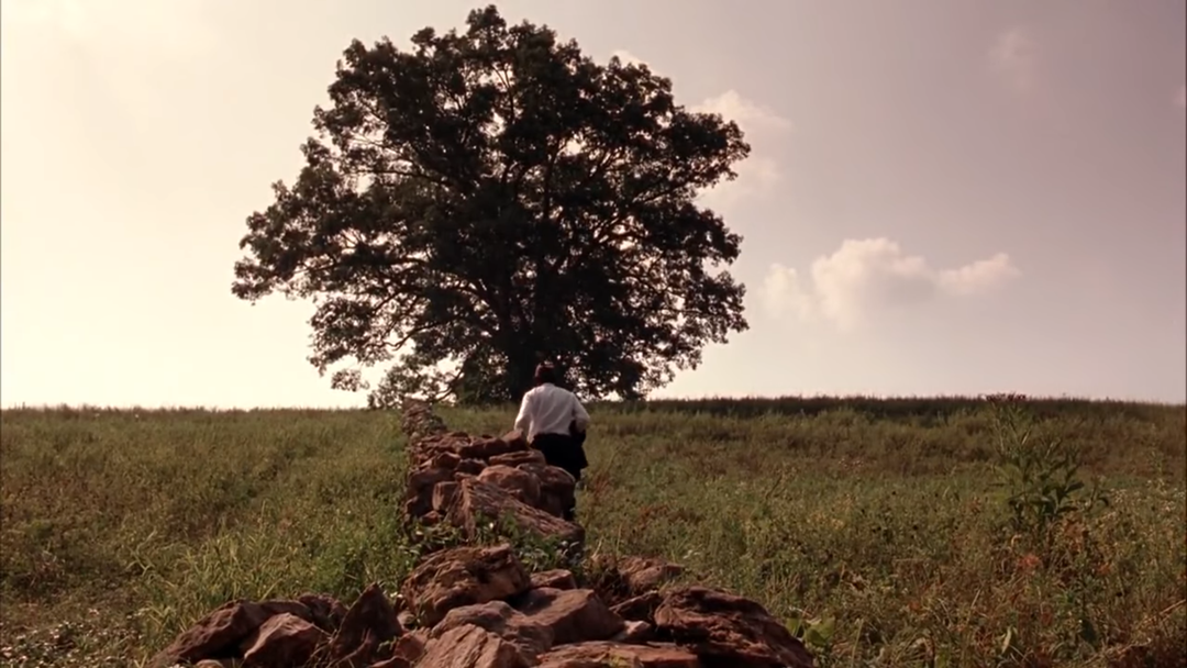 scene in shawshank redemption where Red is about to find Andy's letter - hope is a good thing, maybe even the best of things